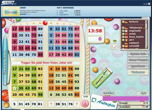 Screenshot von einem Schwimmen Online-Spiel